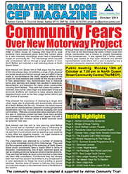 Greater New Lodge Community Magazine October 2014