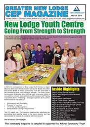 Greater New Lodge Community Magazine March 2014