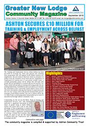 Greater New Lodge Community Magazine September 2015