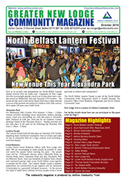 Greater New Lodge Community Magazine October 2016