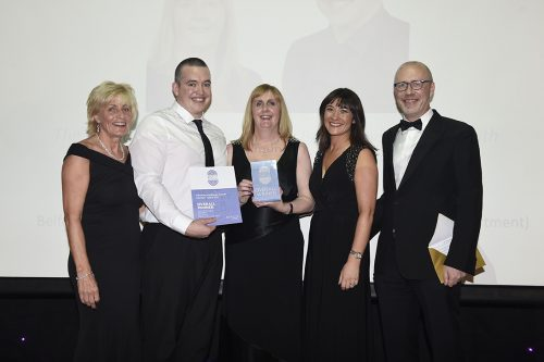 Ashton & Belfast Trust reach for gold at London Healthcare Award Finals