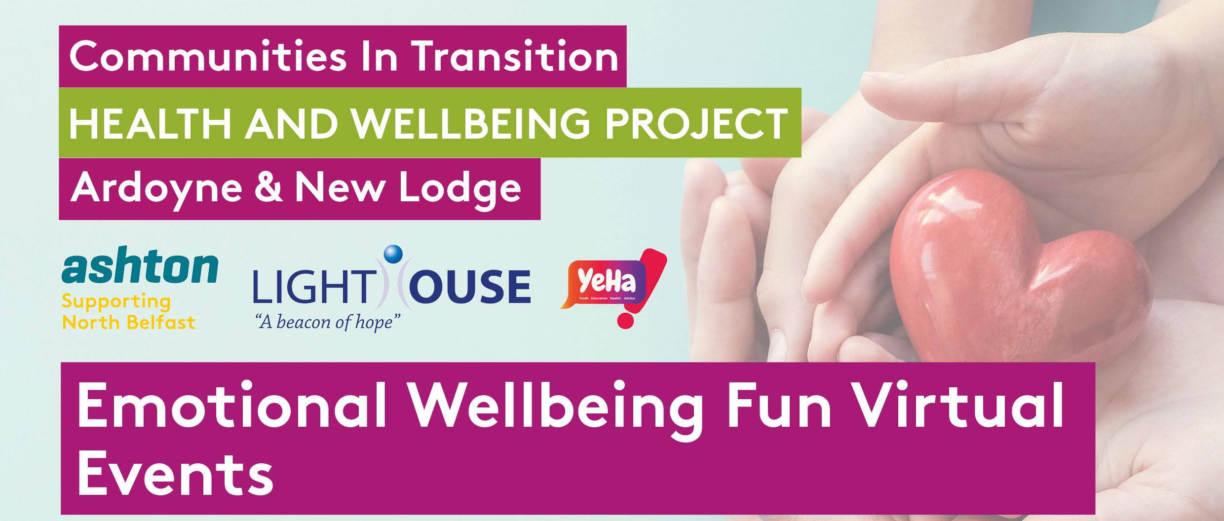 Emotional Wellbeing Fun Virtual Events